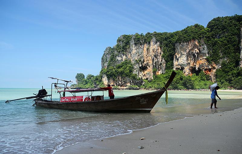 Активный отдых на скалах. Скалолазание в Тайланде
