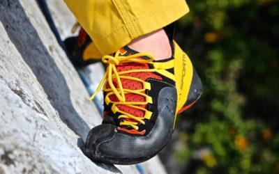 Как разносить скальные туфли