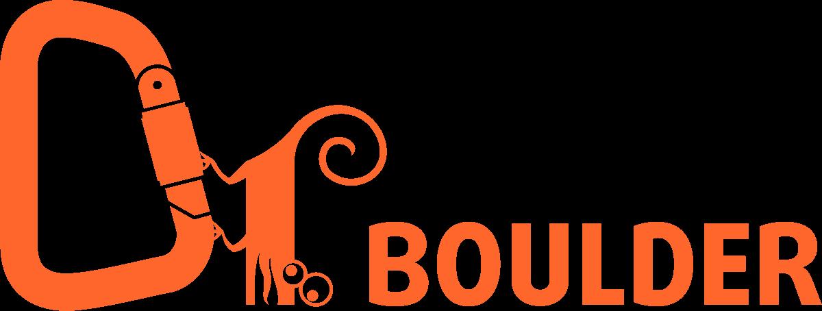 Школа скалолазания в Москве. Логотип Doctor Boulder
