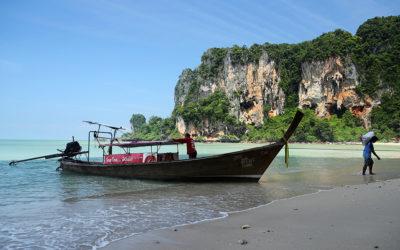 Скалолазание в Таиланде