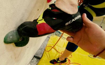 Постановка ног в скалолазании