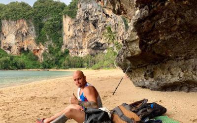 Тренер по скалолазанию: скалолазание на скалах в Тайланде